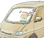 男童偷开汽车高速上兜风
