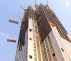记录57层高楼19天建成