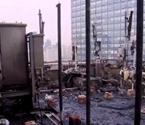 云都虹桥大厦起火