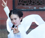 武体女生酷似刘亦菲