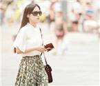 山城美女初夏时尚街拍