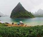 壮乡仙境大龙湖