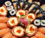 美味寿司拼盘送上门