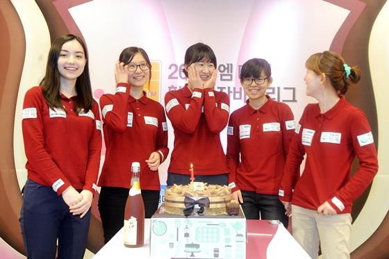 幻灯-韩国女子联赛 黑嘉嘉助仁济队夺冠