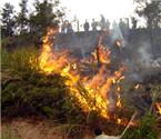 村民烧纸祭祀引发火灾