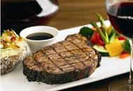 好吃精致的牛排大餐