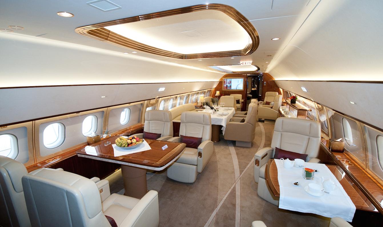空客ACJ319参展2015亚洲商务展