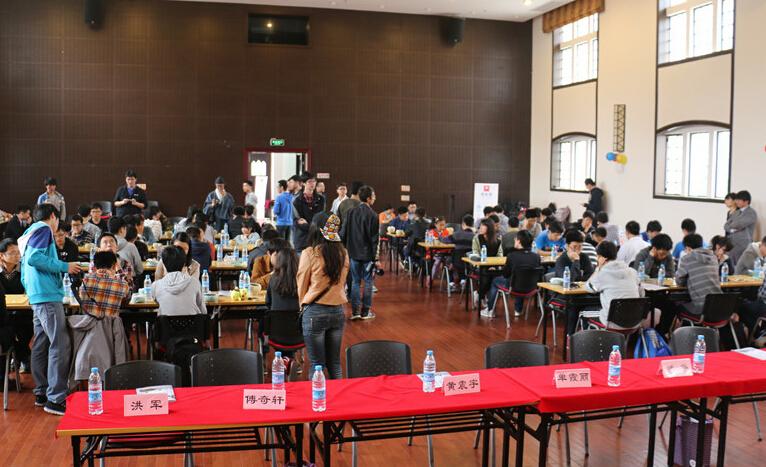 高清-上海大学生围棋联赛开战