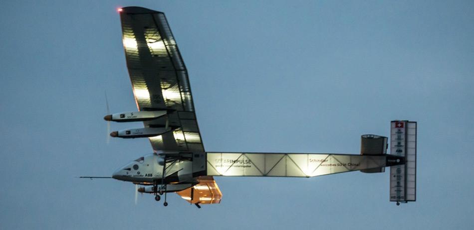 世界最大太阳能飞机顺利飞抵南京
