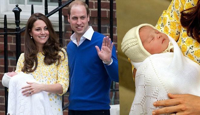 英国小公主公布全名 为纪念而包含戴安娜