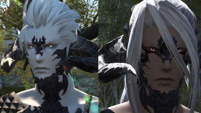 最终幻想14龙男捏脸分享 狂野范很难捏