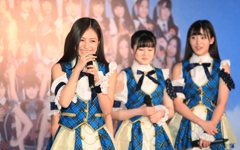 SNH48短裙女仆装
