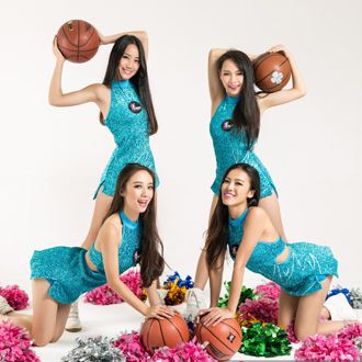炫舞团广东啦啦队时尚写真