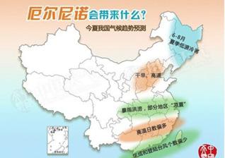 """太平洋""""发烧""""对中国影响有多大?"""