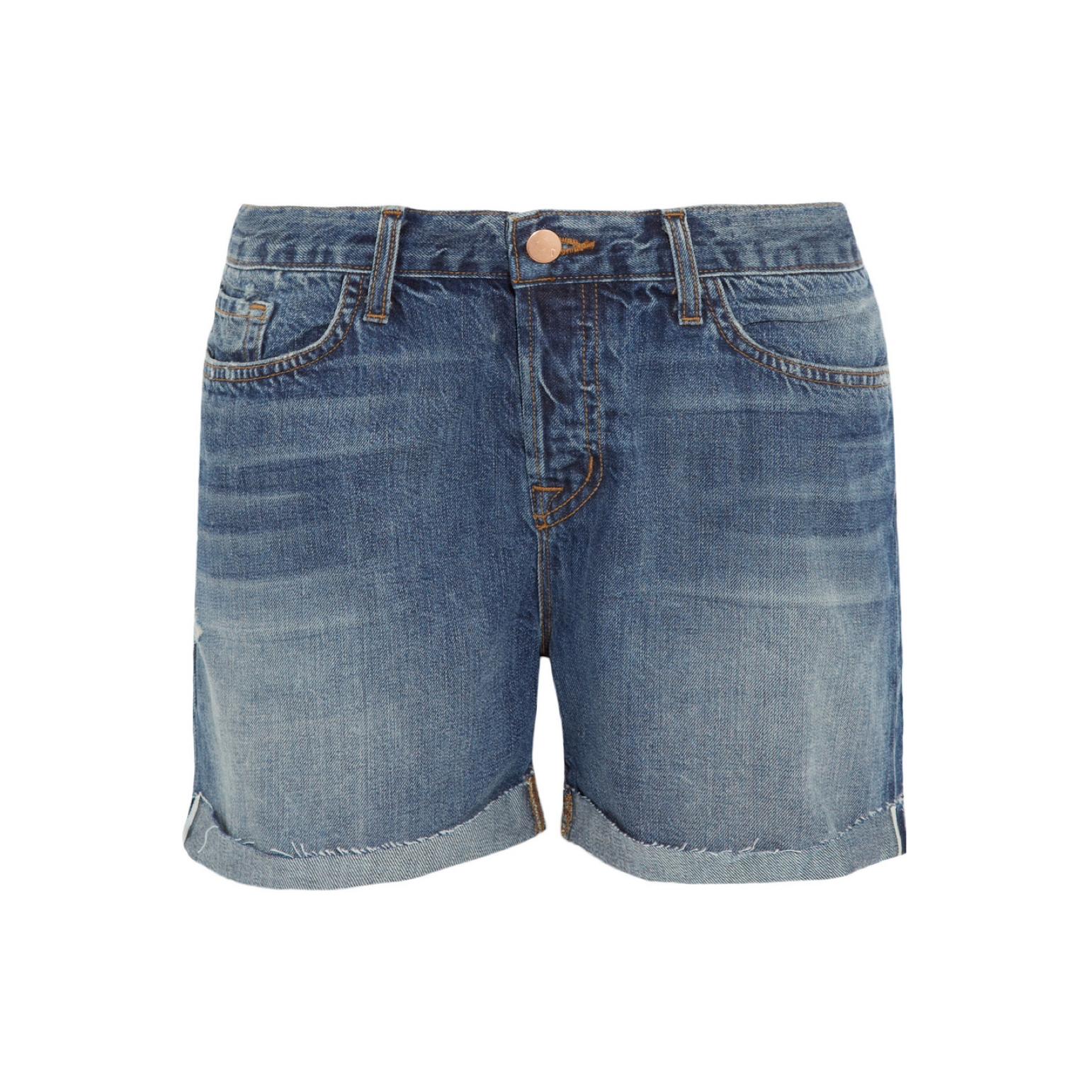 浅蓝色短裤