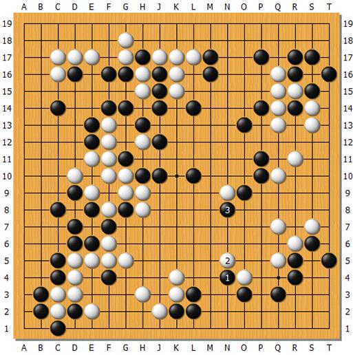 冒险岛2 告白气球谱子-白2如果连扳,黑3可以脱先.与上图类似,下边白棋没有手段.   黑