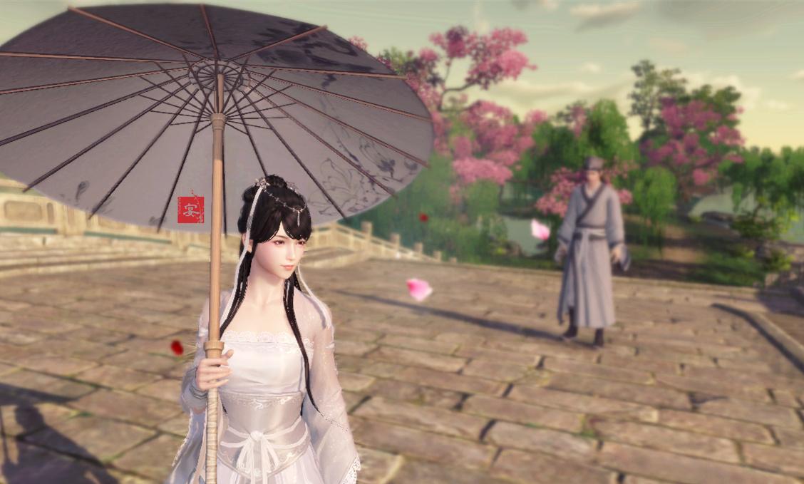 天涯明月刀西湖白蛇传情景再现 唯美游戏截图