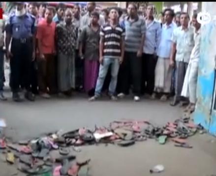 孟加拉国斋月免费领衣服 发生踩踏致数十人死伤