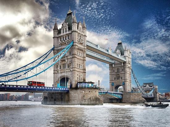 【旅游】花少团就是在这座桥上俯瞰伦敦的