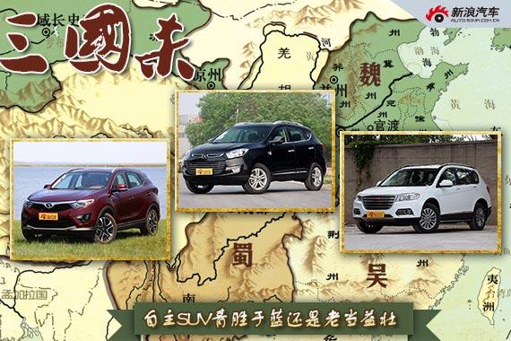 三国杀35期 自主SUV青胜于蓝还是老当益壮