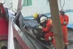 深圳违建坍塌 搅拌车司机被砸死