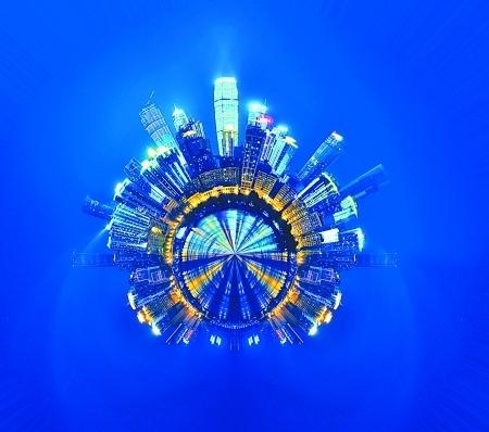 360度全景照片 另一个角度看重庆
