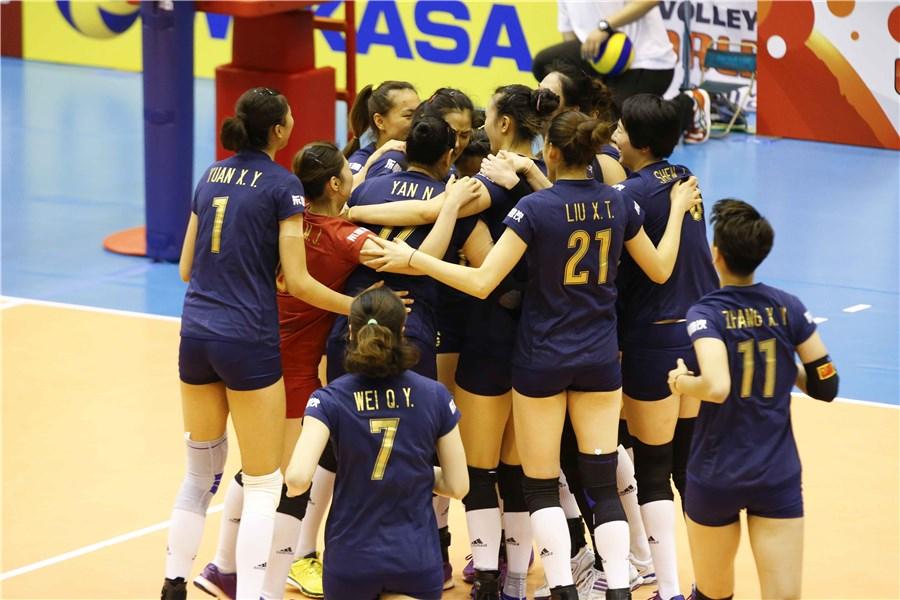 中国女排3-1逆转韩国