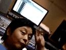 王杰录音室玩自拍