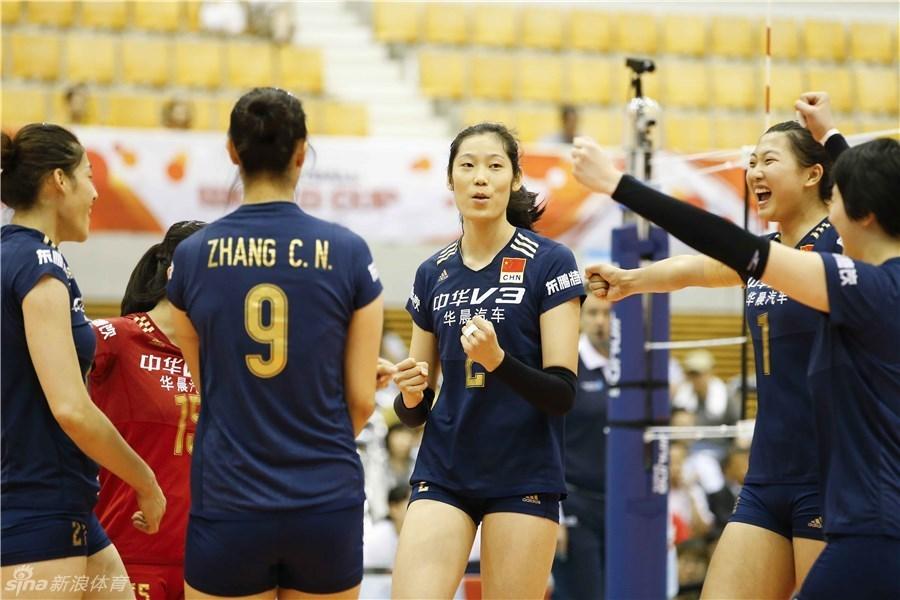 中国女排3-0阿根廷