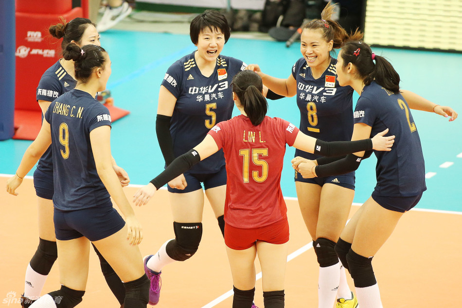 中国女排3-0多米尼加