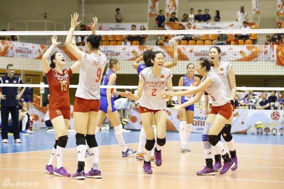 中国女排世界杯夺冠历程