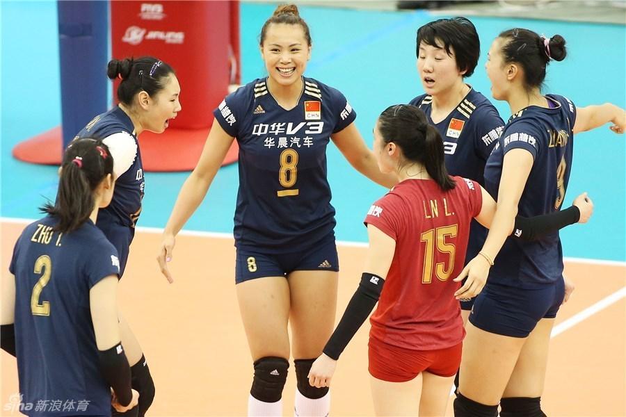 中国女排3-1日本夺世界杯冠军