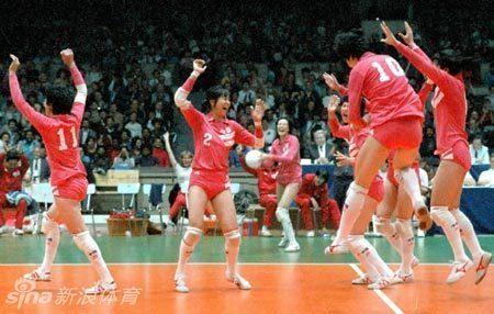 1986年 女排世锦赛(捷克斯洛伐克)