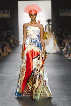 纽约时装周刮起深圳旋风