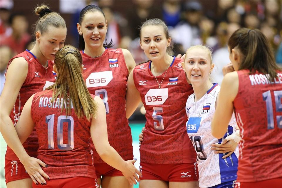 俄罗斯女排颜值最高