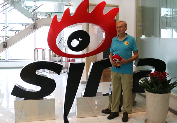 皮埃罗-斯加鲁菲(Piero Scaruffi)接受新浪科技专访。