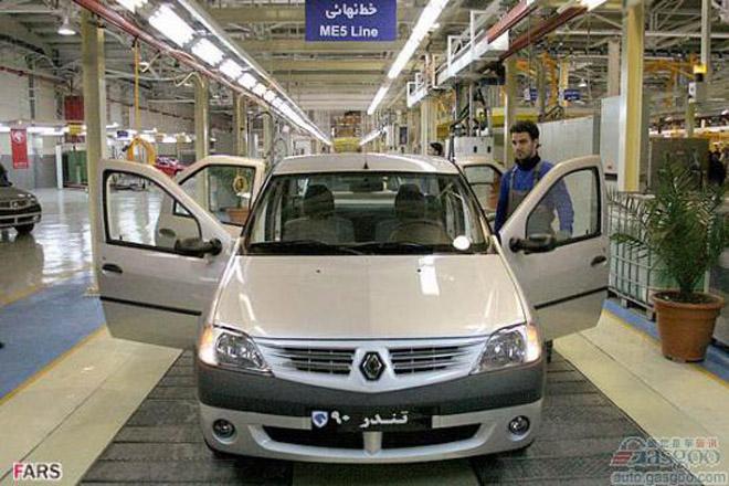 雷诺伊朗投产Sandero 本财年可生产1万辆