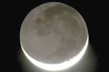 9日凌晨月掩金星:我国可见金星与月亮擦肩而过