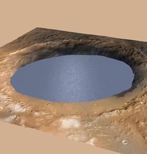 好奇号最新数据表明火星曾存湖泊