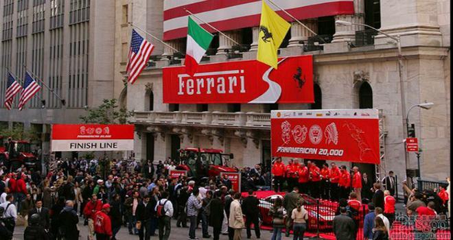法拉利IPO上市估值或达124亿美元