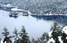 螺髻山景区迎来今年第一场大雪