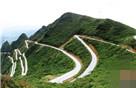 重庆秀山现真实版山路十八弯
