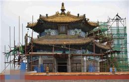 避暑山庄及周围寺庙修缮工程进展顺利