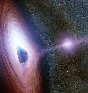 神秘黑洞耀斑:或光冕喷射所致