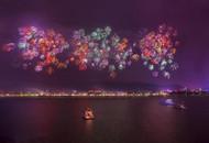 2015长沙最后一场焰火 绚丽绽放