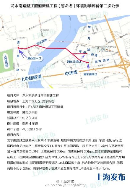上海11号线龙耀路_黄浦江底下有望再添一南一北两条隧道_新浪上海_新浪网