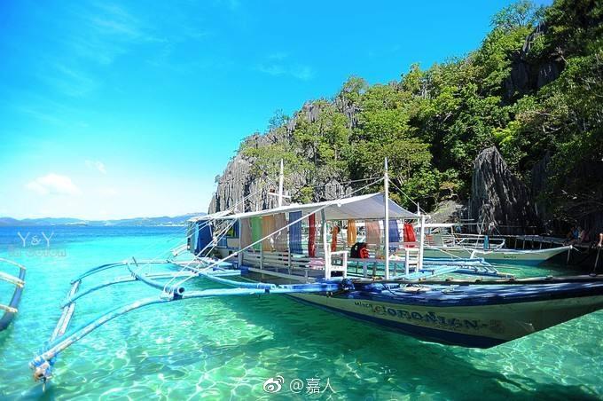 菲律宾人的度假小岛——位于菲律宾西南部巴拉望群岛,是浮潜玩家的