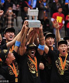 CBA北京夺冠