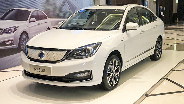 富康ES500正式上市 补贴后售价13.86万起