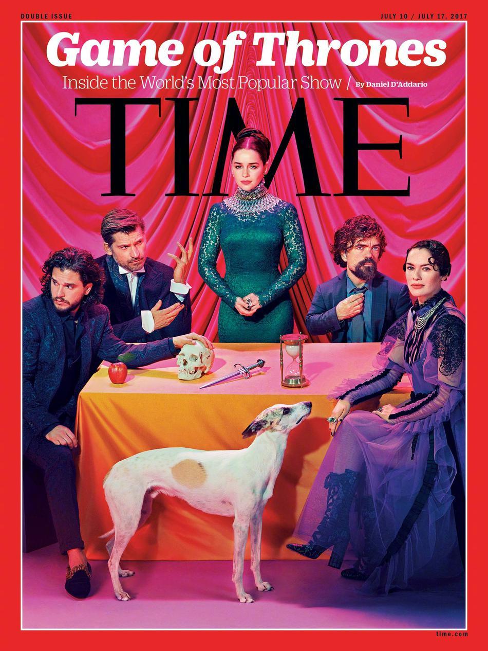 、三傻、二丫、瑟曦、詹姆等角色的个人写真也随即释出,写真色